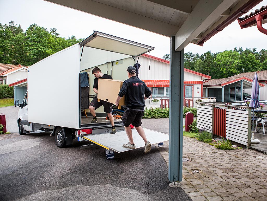 Vi hjälper dig med flytt och lagring/magasinering