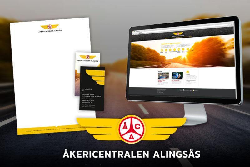 Ny hemsida för Åkericentralen i Alingsås AB